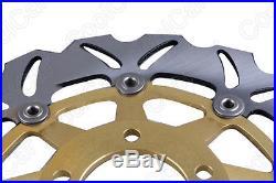 Front Brake Disc Rotor For Suzuki GSF BANDIT 250 400 1200 & GSX 1200 99-03 Gold