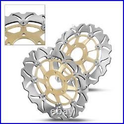 Front Brake Disc Rotors For Suzuki GSF BANDIT 250 400 1200 99-03 GSX 1200 Gold