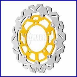 Front Brake Disc Rotors For Suzuki GSR400 GSR600 DL650 V-STROM ABS GSF650 BANDIT