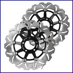Front Brake Disc Rotors Steel Pad Fit Suzuki Bandit 250/1200 & GSF500 & GSX1200