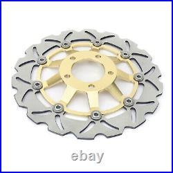Front Brake Discs Disk For GSX600F 89-97 GSX750F 89-03 SV650S 99-02 RF600R 93-98