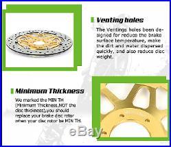 Front Brake Discs Disks For GSF 600 Bandit / S 95-04 GSX 600 750 F 89-97 RGV 250