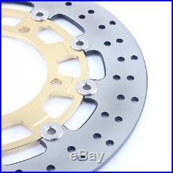 Front Brake Discs Disks For GSR400 GSR600 GSR750 ABS GSX 1300 B-King /ABS 08-11