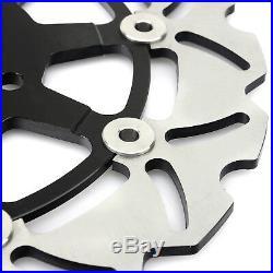Front Brake Discs Disks Pad For Suzuki GSF 650 Bandit S ABS SV650 SV650S GSX750F