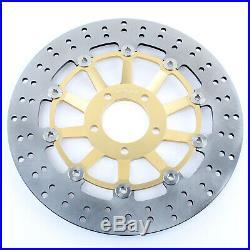 Front Brake Discs Disks Pads For Suzuki GSF 1200 S Bandit 01-05 K1 K2 K3 K4 K5
