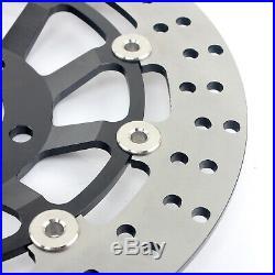 Front Brake Discs Disks Pads For Suzuki GSF 600 S Bandit 00-04 SV 650 S GSX750F