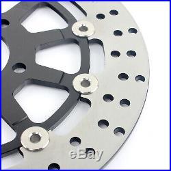 Front Brake Discs Disks + Pads GSF 650 Bandit S ABS SV650 03-10 SV 650 S GSX750F