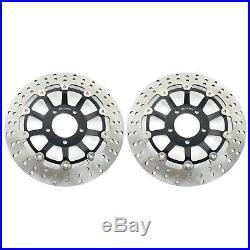 Front Brake Discs Disks RF 900 R 98 99 GSX 1200 FS INAZUMA 00 01 GS 1200 SS Pair