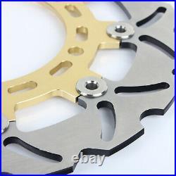 Front Brake Discs Disks for Suzuki GSF 650 ABS Bandit 05-07 Gladius SV 650 S X