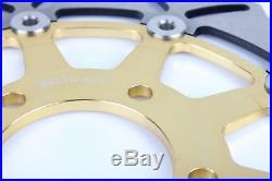 Front Brake Discs For SUZUKI GSX 600F Katana K3-K6 GSF 650 Bandit S ABS SV 650 S