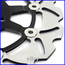Front Brake Discs Pads For Suzuki GSF 650 Bandit / S ABS GSX750F SV650 03-09