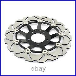 Front Brake Discs Pads for SUZUKI GSF600 S Bandit 00-04 GSX750F SV 650 S 99-02