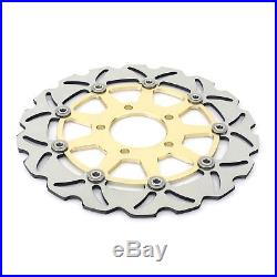 Front Brake Discs Rotors For GSX 600 750 F 04-06 SV 650 02-10 SV-S 650 2003-2012