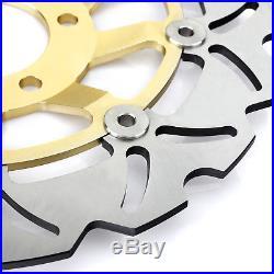 Front Brake Discs Rotors For Suzuki GSXR 400 GSX 400 Impulse X Z RF400R RF400RV