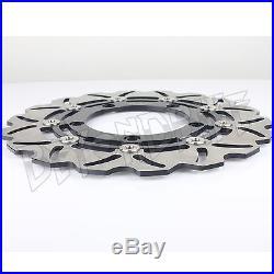 Front Brake Discs Rotors GSX 1300 B-King / ABS GSX1300R HAYABUSA 08 09 10 11 12