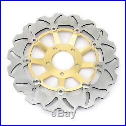 Front Brake Discs Rotors Pads For Suzuki GSF 1200 Bandit / S K1 K2 K3 K4 K5 Set