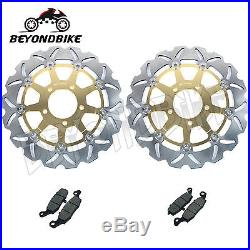 Front Brake Discs Rotors Pads SV 650 03-10 GSF 650 Bandit S / ABS K5 K6 GSX750F