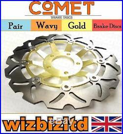 Front Brake Discs Suzuki GSF 400 P/NP/VP/VZP/VR Bandit (GK75A) 89-94 W903GD2