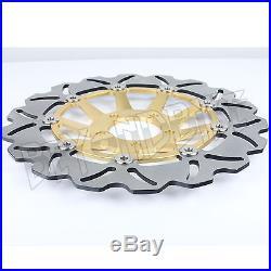Front Rear Brake Disc Rotor GSX600F 02 03 RF600R 97 98 SV650S 99 RF400R RF400RV