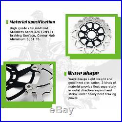 Front Rear Brake Discs Disks For GSF 650 Bandit / S 07-12 GSF 650 F 08-13 GSR600