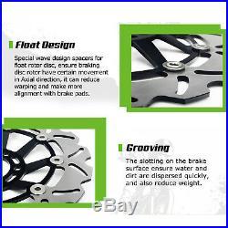 Front Rear Brake Discs Disks For SV650S 99-02 GSX 650 750 F 98-03 Bandit 650 / S