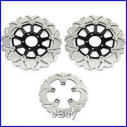 Front Rear Brake Discs Disks For Suzuki GSX 1200 FS Inazuma 98-02 GSF1200 Bandit