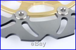 Front Rear Brake Discs Disks GSX600F 02 03 RF600R 97 98 SV650S 99 RF 400 R RV 96