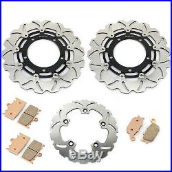 Front Rear Brake Discs Disks Pads GSF 1250 / S Bandit GSF650 GSX650F 14 13 12 11