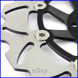 Front & Rear Brake Discs Disks Rotors Pads For Suzuki RF 900 GSF 1200 Bandit / S