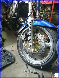Front Rear Brake Discs For GSF 600 Bandit N S 95-04 SV 650 99-02 RF 400 600 R
