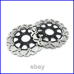Front Rear Brake Discs For GSX 600 F 03-06 GSX 750 F 04-06 GSF 650 / S 2005-2006