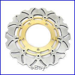 Front Rear Brake Discs Pads Bandit GSF 1250 / S 07-15 GSF650 07-14 GSX650F 08-15