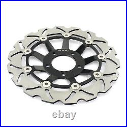 Front Rear Brake Discs Pads For GSF 600 Bandit N S 00-04 GSX 600 750 F 1998-2002