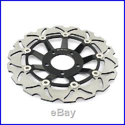 Front Rear Brake Discs Pads For GSF 600 Bandit / S 2000-2004 GSX 750 F 1998-2002