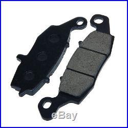 Front Rear Brake Discs Pads For SUZUKI GSF 600 Bandit 00-04 SV650S GSX750F 98-02