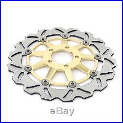 Front Rear Brake Discs Rotors Disks For GSF 650 Bandit S / ABS GSX 600 750 F