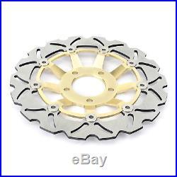 Front Rear Brake Discs Rotors For GSX 600 F 89-97 GSX 750 F GSX 400 SS Katana