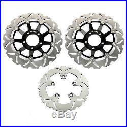 Front Rear Brake Discs Rotors GSF1200 BANDIT / S RF 900 R GS GSX 1200 FS INAZUMA