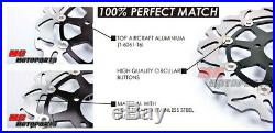 Front Rear Disc Brake Rotor Set For GSF 1250 SAK7-K9 SAZK9 SAL0 SAL0GT 07-14 10