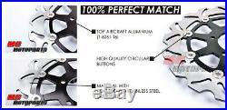Front Rear Disc Brake Rotor Set For Suzuki GSF1200 S K1-5 Faired Bandit 01-05 03