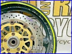 Front Wheel + Brake Discs Suzuki Gsf 1200 Bandit Mk2 2000 2005