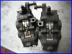 Front brake calipers (pair) suzuki 1200 bandit gsf1200 96-99