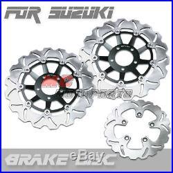 Front rear Brake Disc Suzuki GSF 1200 Bandit 1996 1997 1998 1999 S 96-99