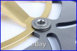 GSF 600 BANDIT / S SV650S GSX750F Front Brake Discs Disks + Pads 98 99 K1 K2 K3