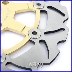 GSF 650 Bandit 05 06 K5 K6 Front Rear Brake Discs Disks Pads Rotors Full Set New