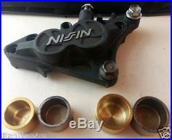 GSX-R600WP 4 x Titanium front caliper pistons for NISSIN caliper +Seals + parts