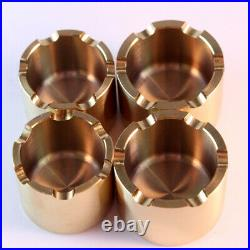 GSX-R750 (88-91) Titanium front caliper piston KIT for NISSIN caliper. GSX-R400