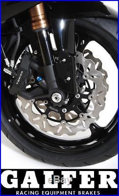 Galfer Wavy Front Brake Discs Wave Rotors Suzuki GSF 650 Bandit 05