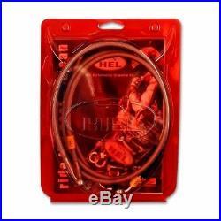 Hel Brake Line Kit For Suzuki Gsf1200 Bandit T-y (1996-2000) 3 Front