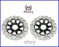 New 2 Front Brake Discs Rotors for Suzuki Bandit 600 1995-2004 SV650S 1999-2002
